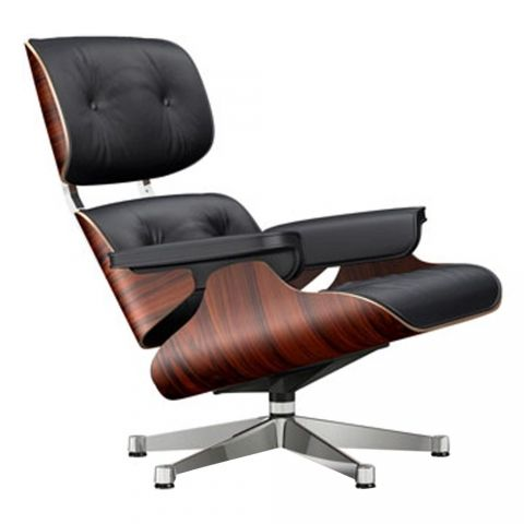 Fauteuil Lounge Chair Vitra Charles Eames zei met dit