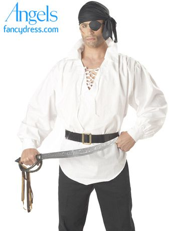 PIRATE COSTUME PARTY FANCY DRESS  ACCESSORIES EYE PATCH BANDANNA BELT BUCKLE