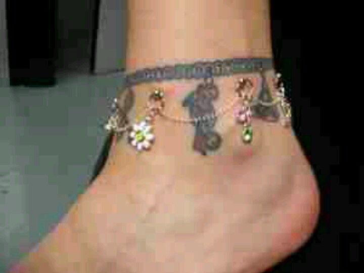 Ankle Dermal Piercing Piercings Star Tattoos Tattoos