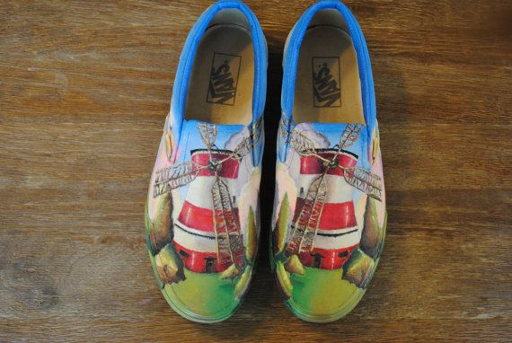 037e5de9b2e59 Hand painted Gorillaz Vans by Aliszations on Etsy, $100.00 ...