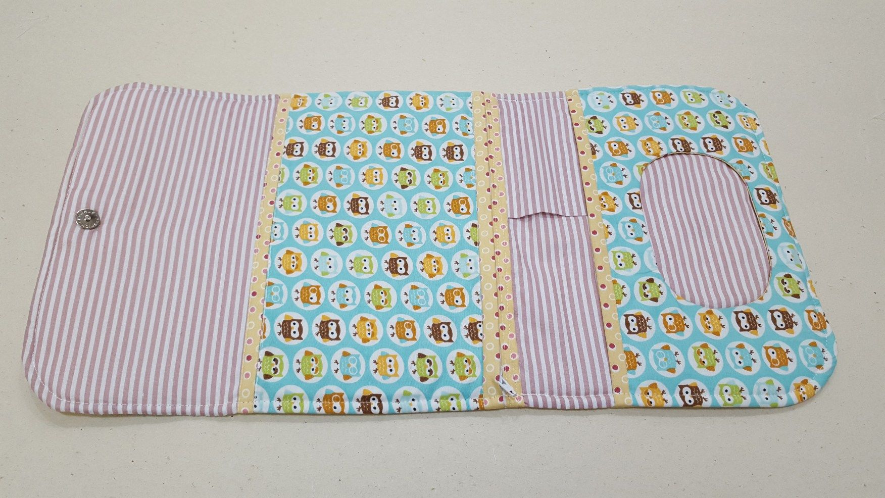 Aparador Hemnes Ikea Segunda Mano ~ Acompanhe o passoà passo de como fazer um porta kit higiene do beb u00ea de tecido coisas de beb u00ea