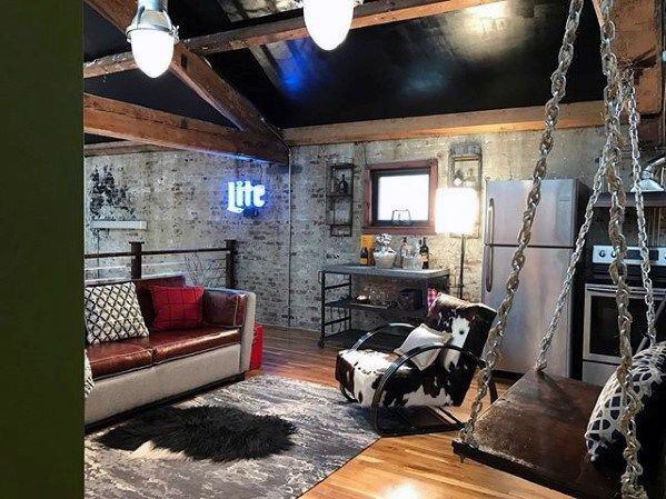 60 basement man cave design ideas for men manly home on incredible man cave basement decorating ideas id=19363