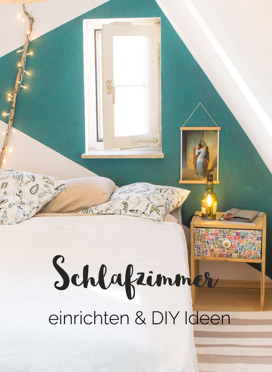 Schlafzimmer einrichten mit mehreren günstigen DIY ...
