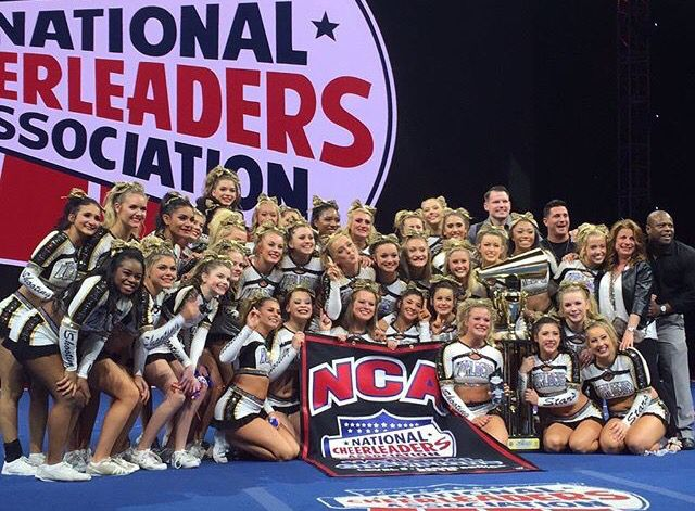 World Cup Shooting Stars 2016 Large Senior Nca National Champions Let S Break The Nca Curse This Year Ladies National Champions Cheerleading All Star Cheer
