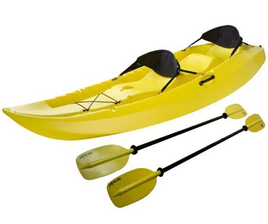 Lifetime 10 Ft Sit On Top Tandem Kayak Yellow 90118 Tandem