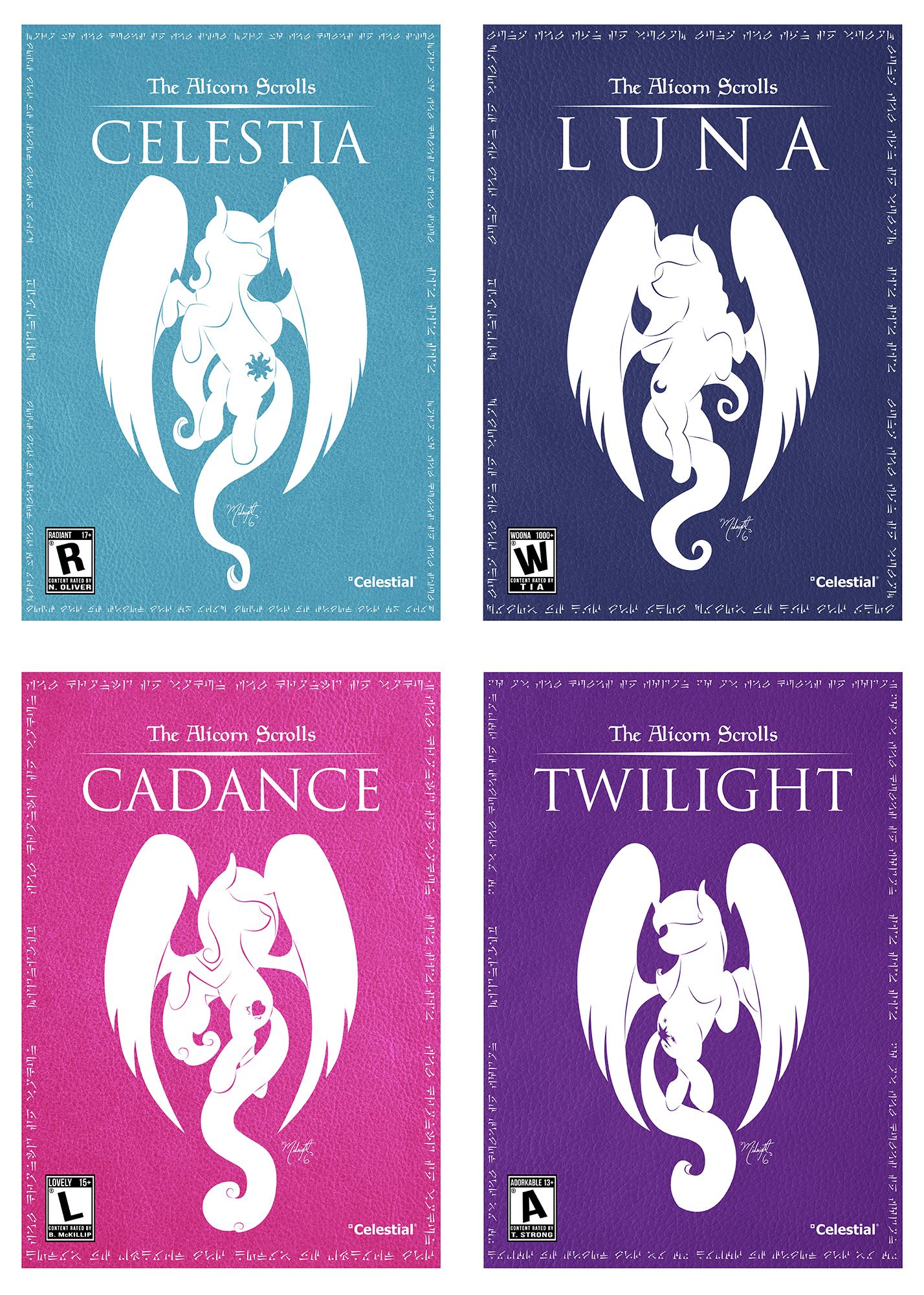 The Alicorn Scrolls by Midnight6-6-6.deviantart.com on @deviantART