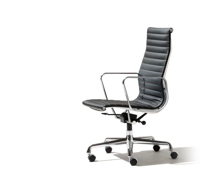 Chaise De Lu0027assistante Et Des Deux Designers Eames Aluminum Group   Executive  Chair   Home   Herman Miller