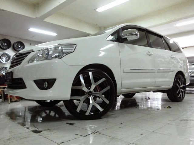 Velg Modifikasi All New Avanza, Modifikasi Toyota Kijang Innova Velg Racing Lebih Elegan, Velg Modifikasi All New Avanza