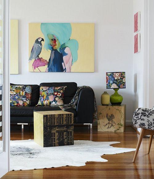 Home of Katie Graham via DesignSponge