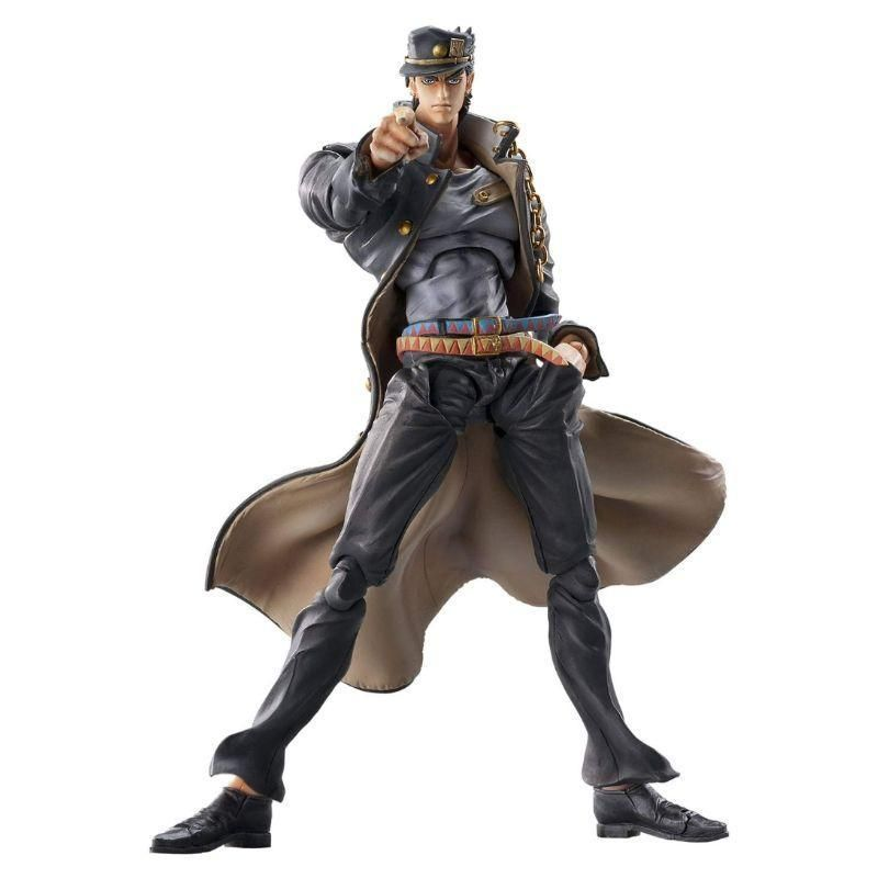 Kujo Jotaro Medicos Super Action Statue JoJo/'s Bizarre Adventure Part 4 Figure