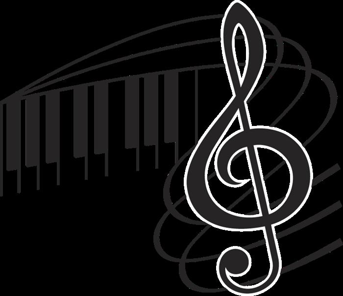 картинки скрипичный ключ с нотами тюльпана покрыты