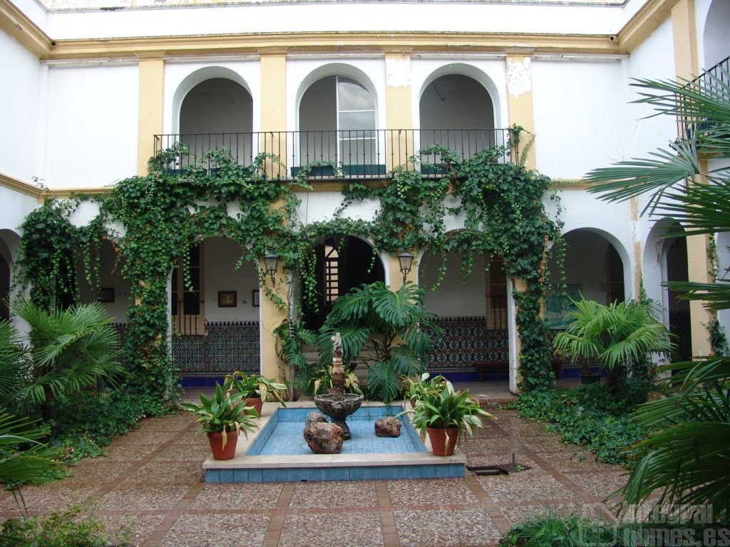 Patio Central de la antigua #casacuna