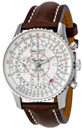 Breitling Men's A2133012/G518BRLT Silver Dial Montbrilliant Datora Watch