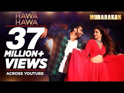 Quot Hawa Hawa Quot Video Song Mubarakan Anil Kapoor Arjun Kapoor Ileana D Cruz Athiya With Images Hindi Dance Songs Bollywood Music Videos Romantic Songs Video