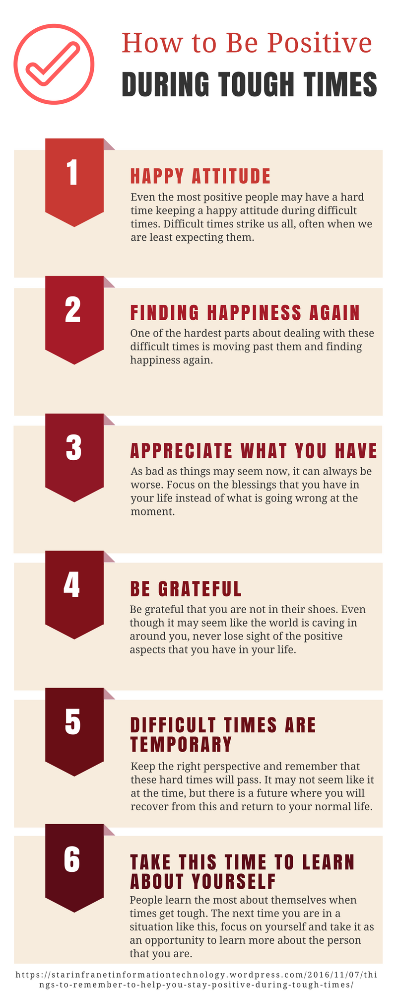 Things To Remember To Help You Stay Positive During Tough Times ...