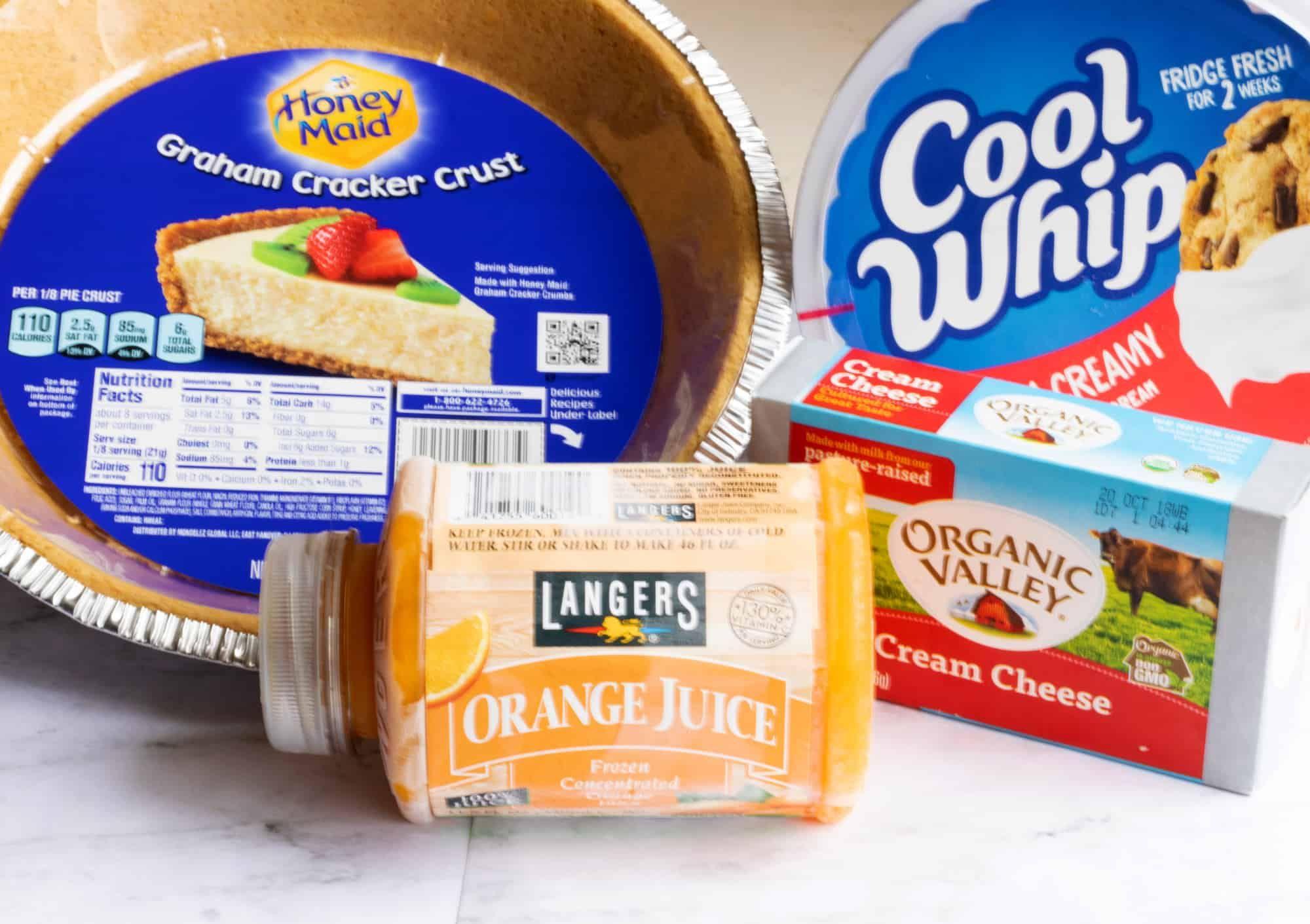 No Bake Orange Creamsicle Pie Recipe Recipe Orange Baking Creamsicle Pie Recipe Orange Creamsicle