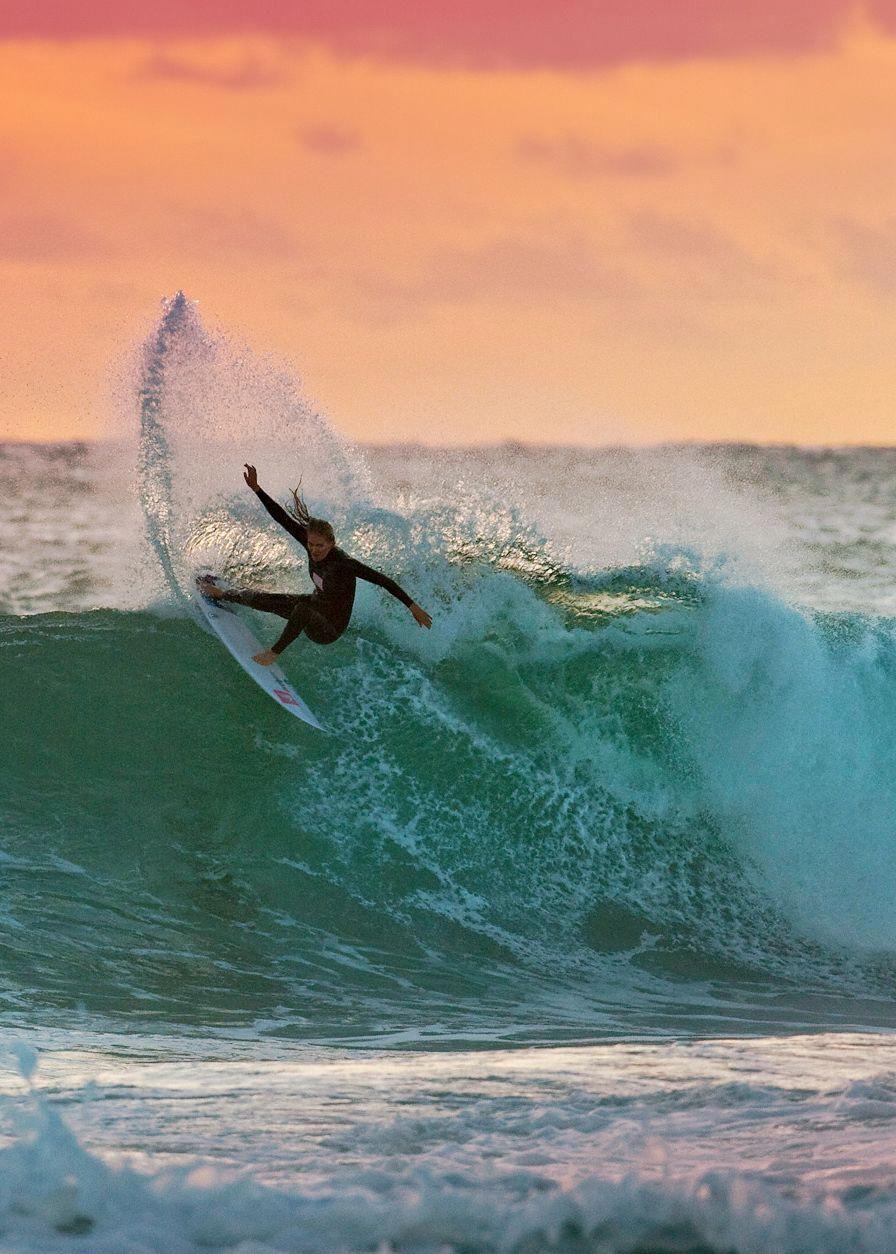 Stephanie Gilmore Ph Shield. Ripping big time! Surfing