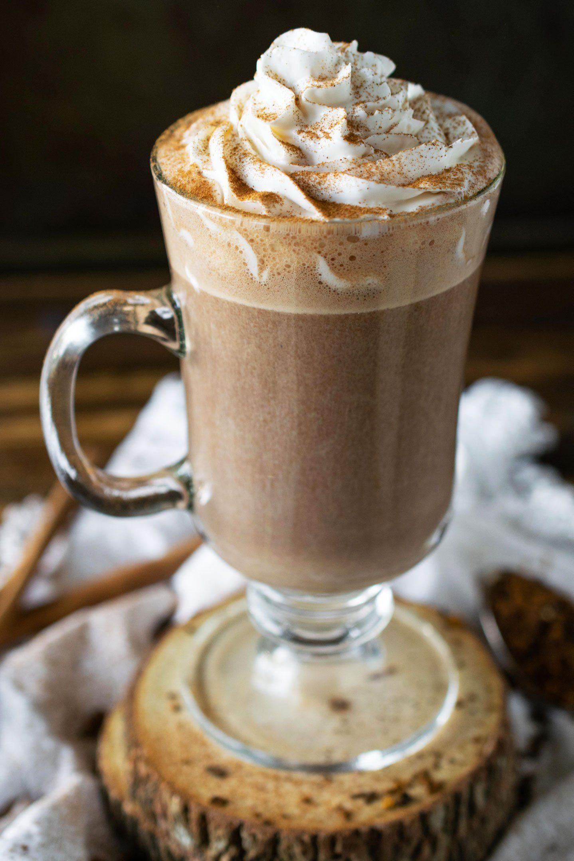 Chaga Spiced Latte (DairyFree) Crystal Dawn Culinary