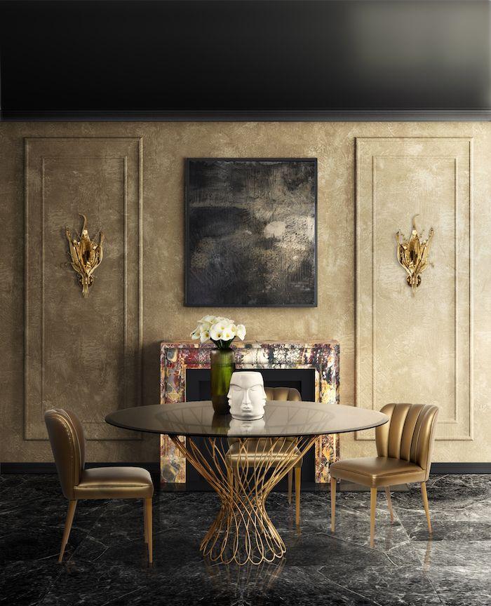 ▷ 1001 + Ideen für Wohnzimmer Wandfarbe 2018 - Moderne Tische Fur Wohnzimmer