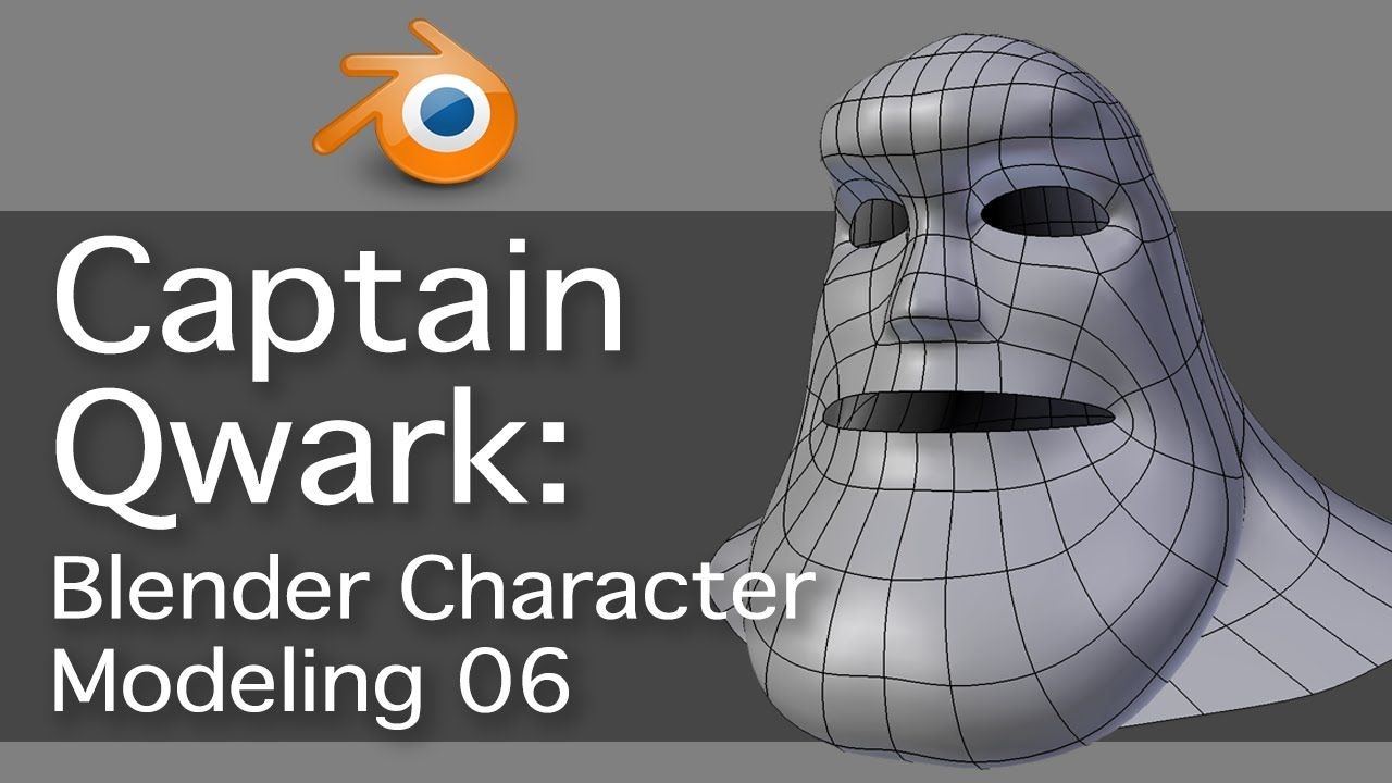 Captain qwark blender character modeling 06 avec images