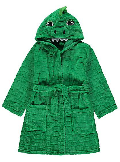 Dino Dressing Gown   Kids   George at ASDA   Boys Dressing Gowns ...