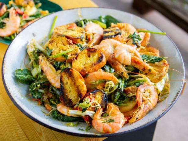 Warm Seafood Salad #seafooddishes