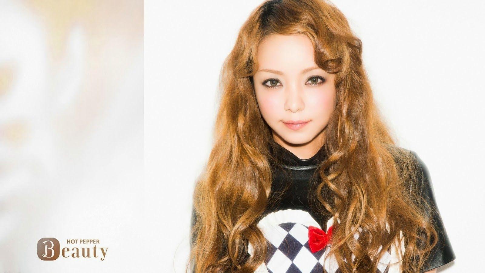 Namie Amuro With Hot Pepper Beauty ファッションアイデア 奈美恵