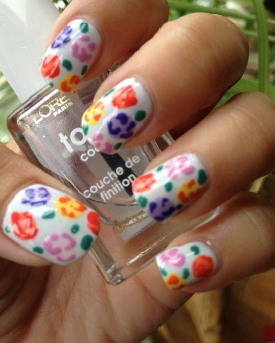 My 2012 Top 10 Nail Art Designs Rose Nails Top Nail And Makeup