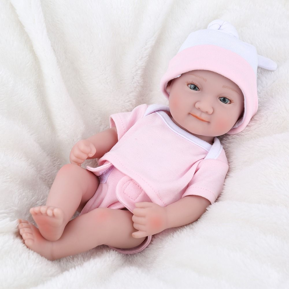Mini Reborn Baby Dolls 10 Inch Toys Age 2 5 Reborn Baby Boy Soft Baby Dolls Reborn Baby Boy Dolls