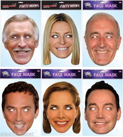 Bruce Forsyth Celebrity Strictly Dancing Card Mask All Our Masks Are Pre-Cut!***