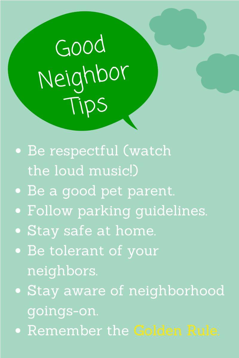 How to Be a Good Apartment Neighbor forecast