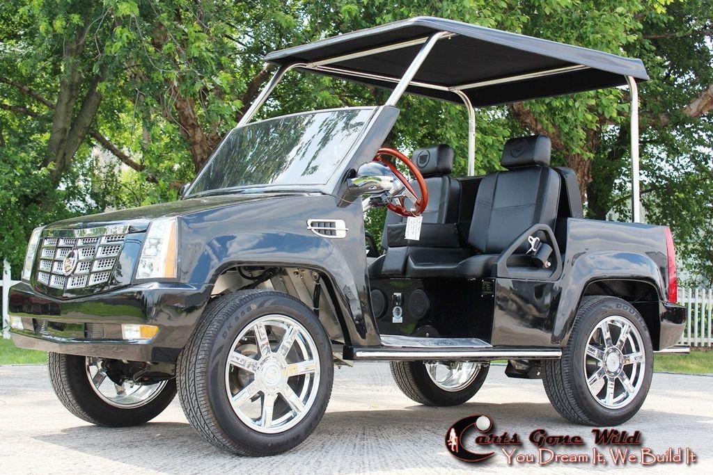 cart custom archive event web cadillac profile golf item side