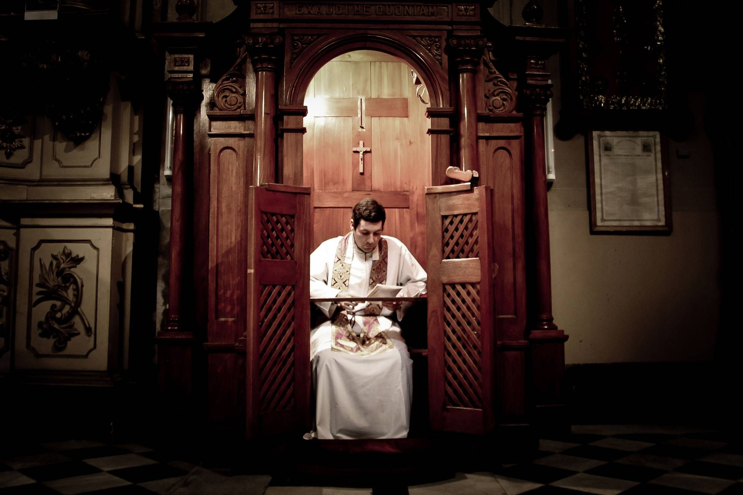 how to do confession in catholic