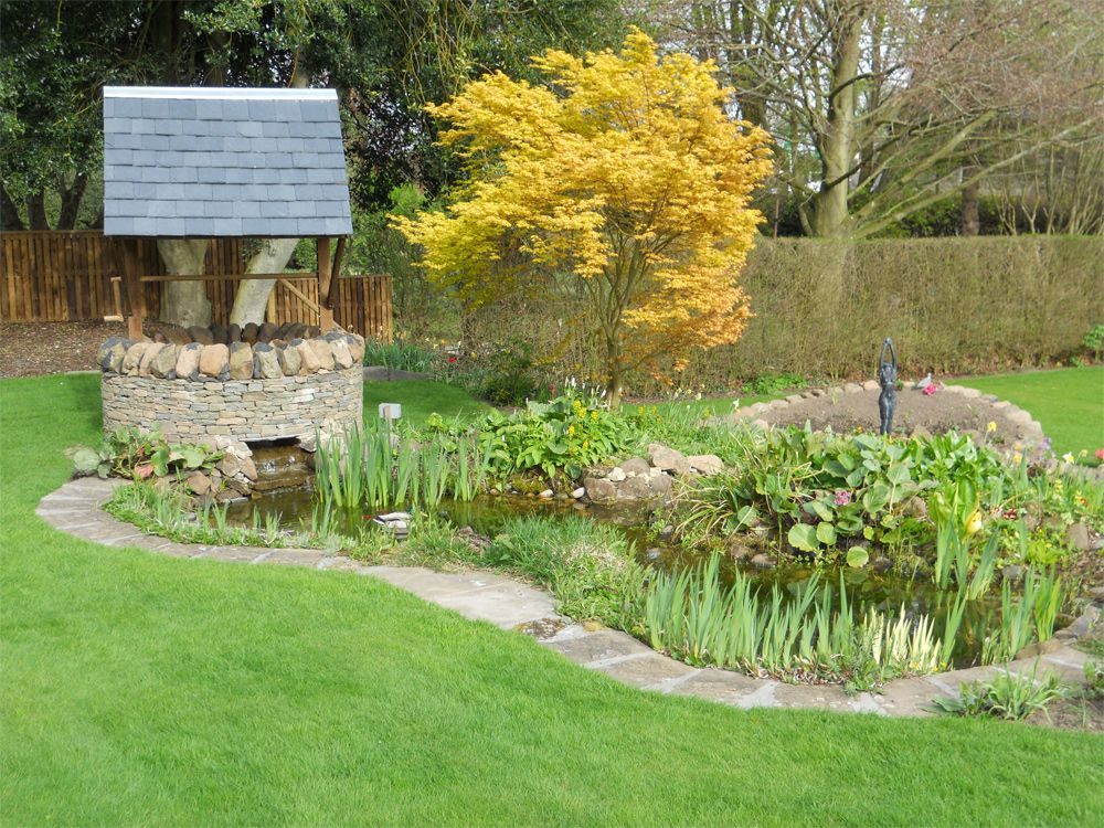 Garden project wishing well garden project click on for Garden project ideas