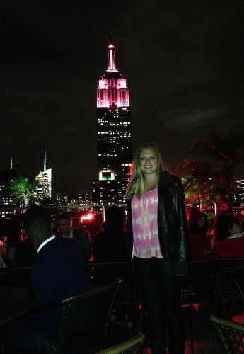 New York City rooftop bar empire state