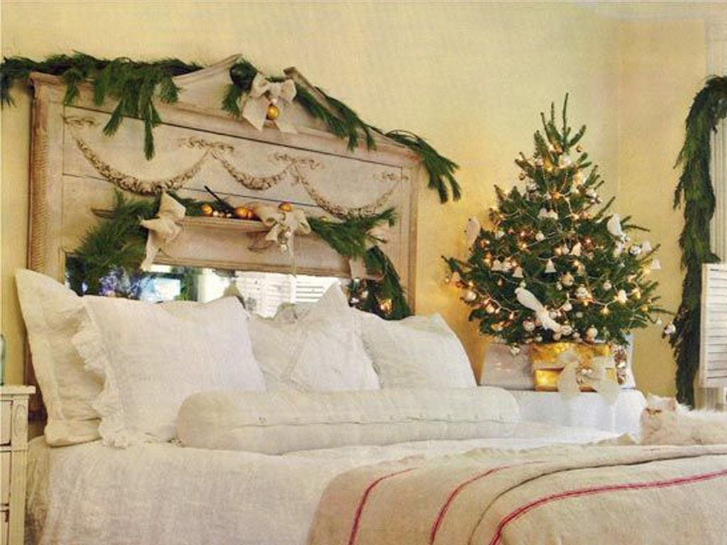christmas bedrooms bedroom christmas decorations ~ dact