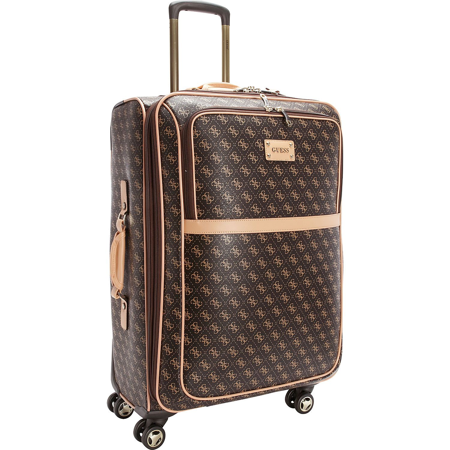Guess Travel Logo Affair 25 Spinner Ebags Com Travel Logo Beautiful Luggage Checked Luggage