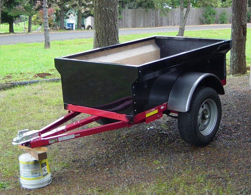 Fiberglass M416/M100 Militarystyle Trailer Tub Kit