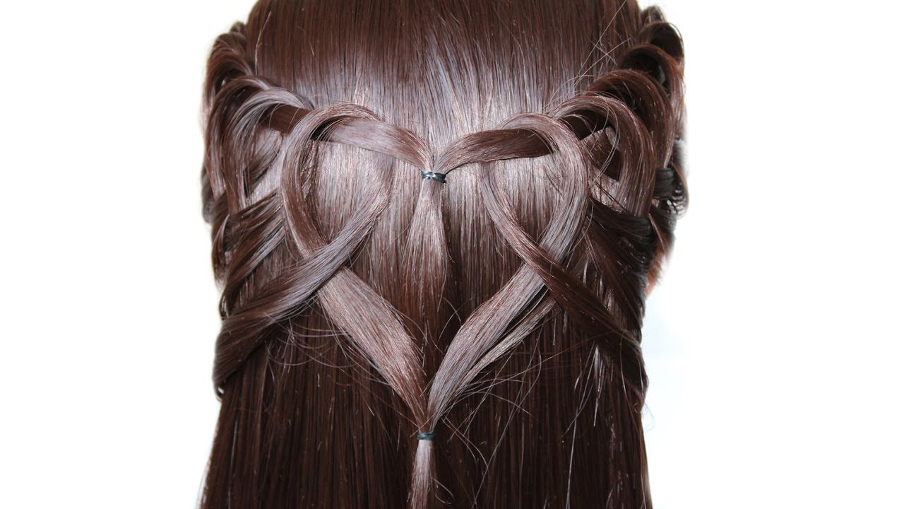Simple And Very Beautiful Hairstyle Heart New Hairstyle 2017 Hair Styles 2017 Beautiful Hair Hair Styles