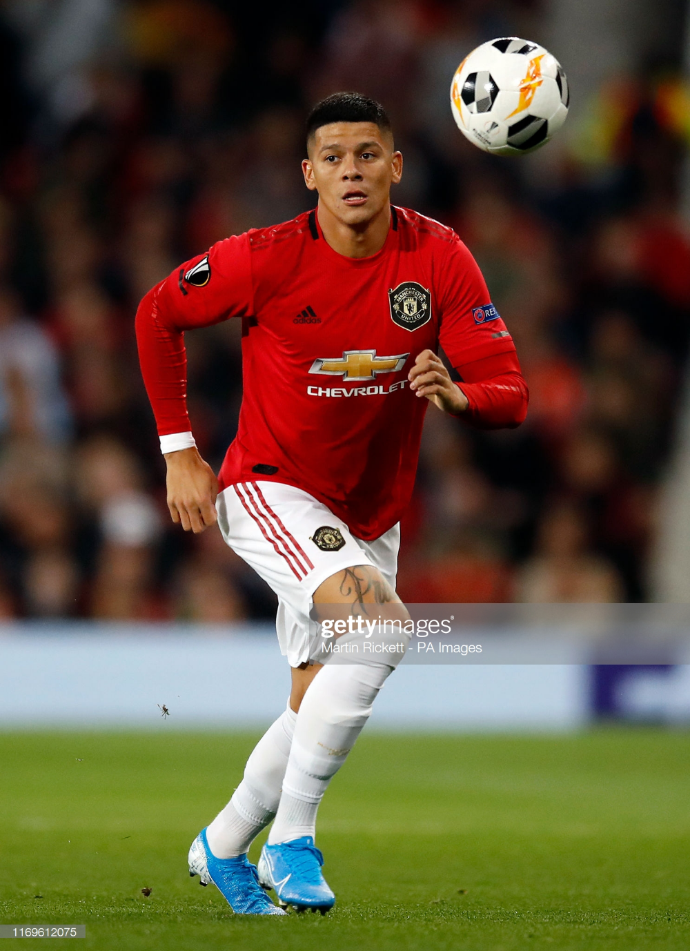 Manchester United S Marcos Rojo During The Uefa Europa League Group L Manchester United Manchester United Football Club Manchester