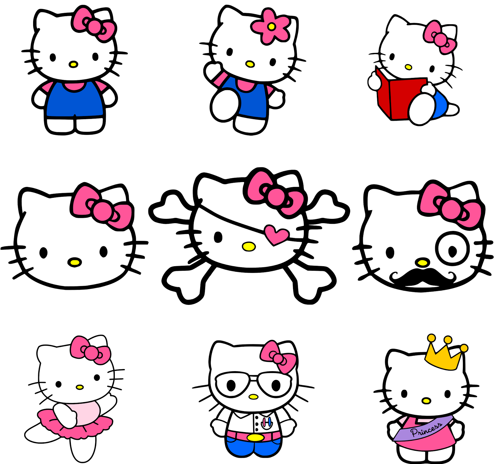 3eebfdcf0 Krafty Nook: Hello Kitty SVG | SVG Files and/or Ideas | Krafty nook ...