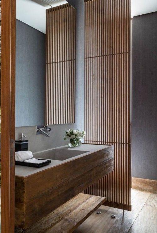 Holz im Bad bringt Opulenz und Wärme mit, verlangt aber Pflege - Fresh Ideen für das Interieur, Dekoration und Landschaft