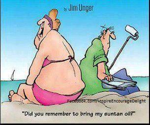 Tanning Cartoon Jokes Herman Cartoon Funny Cartoons
