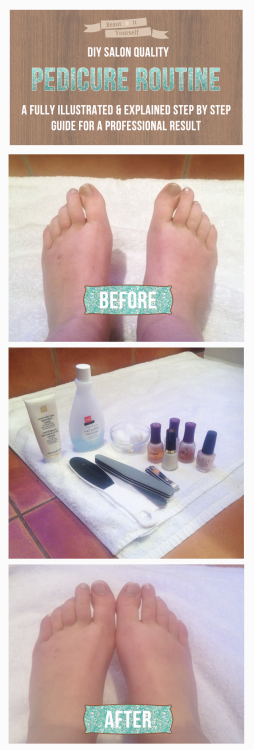 how to give yourself a spa pedicure at home