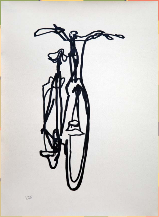 Crescent Scribble 2 | Bicycle Paintings, Prints and Custom Bike Art Portraits, Category #Art #bicycle #Bike #crescent #custom #paintings #portraits #prints #scribble #tattoo #tattoo city #tattoo design #tattoo ideas #tattoo machine #tattoo model #tattoo printer #tattoo studio #tattoos