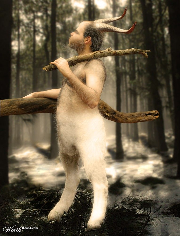Middle-aged Faun