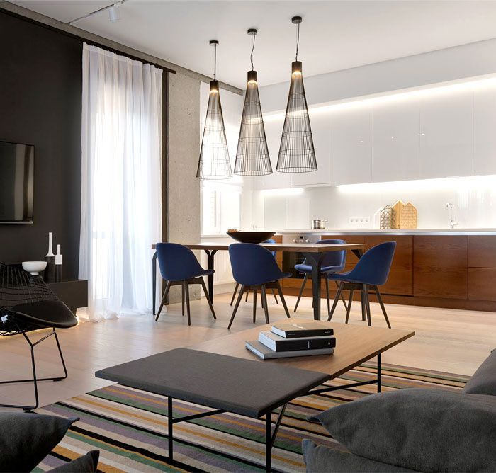 Space Offers Elegant Minimalism With Functional Elements  - Interior Design Trends -