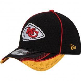 Kansas City Chiefs New Era NFL 39Thirty Viza Frame Team Color Hat (Red) 06ee0ed664bf
