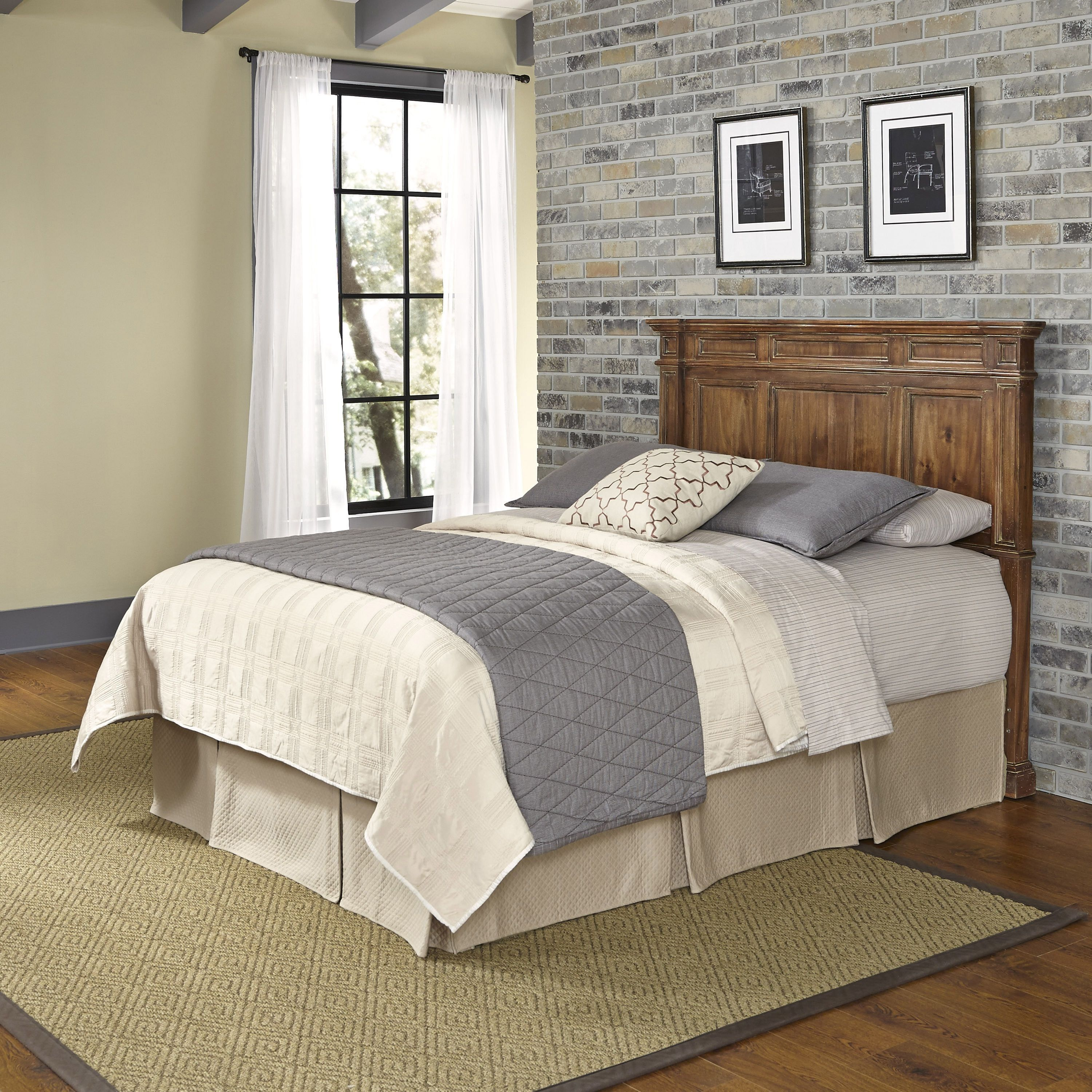 Americana Vintage Headboard by Home Styles Queen