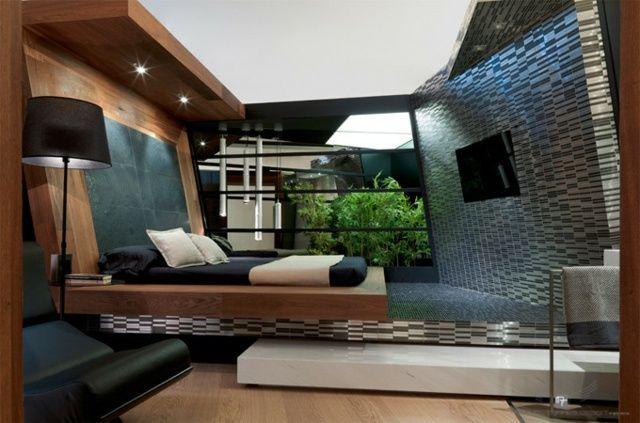 Komplette Schlafzimmer Einrichtung Naturstein Schlafzimmer